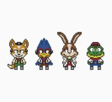 Star Fox Team Mini Pixels One Piece - Long Sleeve