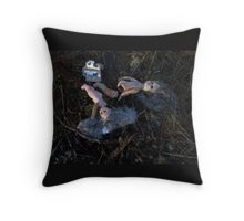 Deep In The Woods 4 Throw Pillow