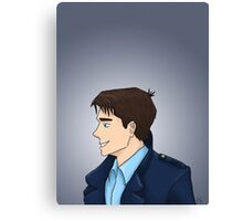Captain Jack Harkness Profile Canvas Print