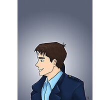 Captain Jack Harkness Profile Photographic Print