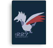 Skarmory! Pokemon! Canvas Print