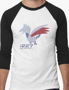 Skarmory! Pokemon! Men's Baseball ¾ T-Shirt