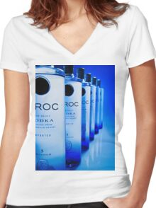 Ciroc Vodka Women's Fitted V-Neck T-Shirt
