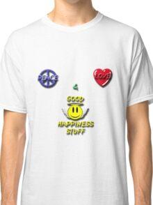 Peace Love Good Happiness Stuff Classic T-Shirt