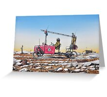 Grassy, Lightning Ridge Rural Fire Brigade Greeting Card