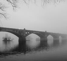 The Columbia-Wrightsville Bridge by dc witmer