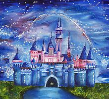 Disneyland Castle by Annalise Butler