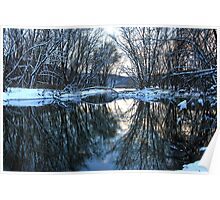 Allegheny River's Hogg Island Meets French Creek Poster