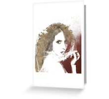 Everything was beautiful, and nothing hurt. Greeting Card