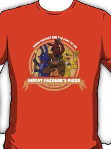 Freddy Fazbear's Pizza Logo T-Shirt