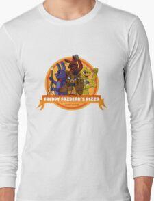 Freddy Fazbear's Pizza Logo Long Sleeve T-Shirt