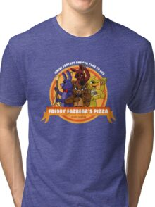 Freddy Fazbear's Pizza Logo Tri-blend T-Shirt