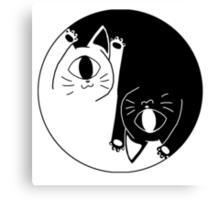 yin nyang Canvas Print