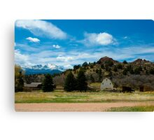 Rockledge in the Spring Canvas Print
