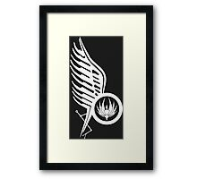 Starbucks Tattoo BSG 2 Framed Print