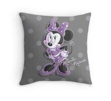 Miss Minnie Throw Pillow