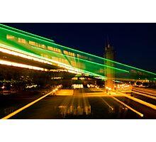 Green Neon Photographic Print