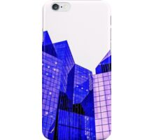Cubic shaped city iPhone Case/Skin