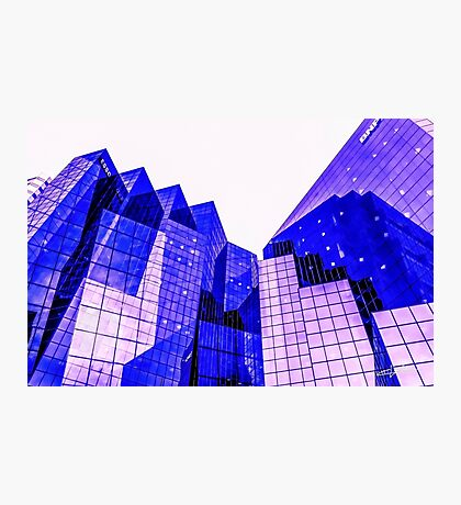 Cubic shaped city Photographic Print