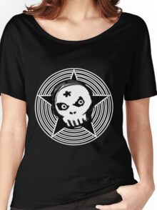 Hypno Skull Women's Relaxed Fit T-Shirt
