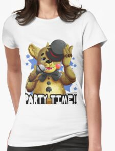Toy Freddy Womens Fitted T-Shirt