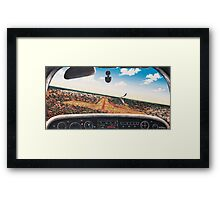 Crowded Airspace, LIGHTNING RIDGE Framed Print