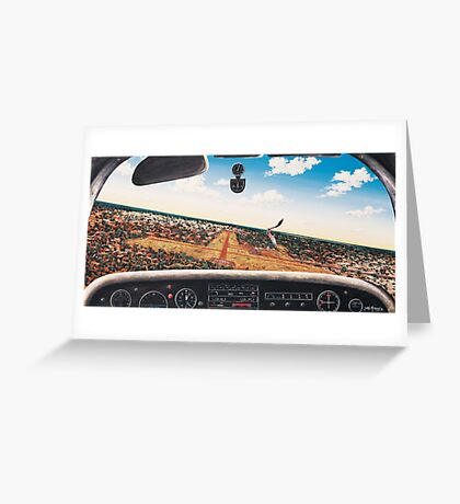 Crowded Airspace, LIGHTNING RIDGE Greeting Card