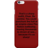 Sharp Outfit  iPhone Case/Skin