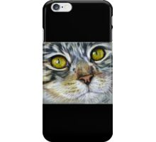 Blink Macro Cat Painting iPhone Case/Skin