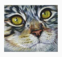 Blink Macro Cat Painting Kids Clothes