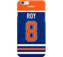 Edmonton Oilers Derek Roy Jersey Back Phone Case iPhone Case/Skin