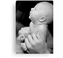 Loving hands to hold Canvas Print