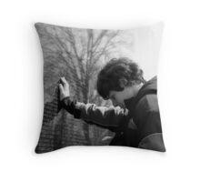 Veiteman War Memorial Throw Pillow