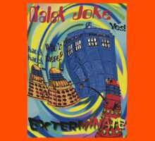 Dalek Joke T-shirt Design by muz2142