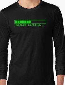 Muscles Loading Long Sleeve T-Shirt