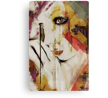Pages Abstract Portrait Canvas Print