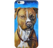 'Angel' - American Staffordshire Terrier iPhone Case/Skin