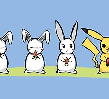 Pika Rabbit by BubbleCrab