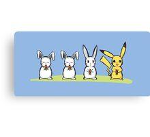 Pika Rabbit Canvas Print