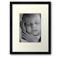 Newborn Photography Framed Print