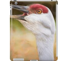 Bird Art - Look Who's Talking iPad Case/Skin