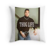 Throwback - Dwayne Johnson Throw Pillow