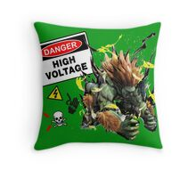 Blanka-High Voltage Throw Pillow