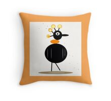 My pet collectable, SINGLE GOONIE BIRD ART Throw Pillow