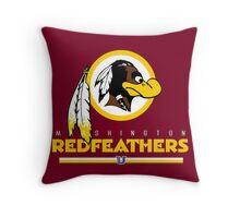 Marshington Redfeathers Throw Pillow