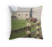 yards at Highfield House, Stanley Throw Pillow