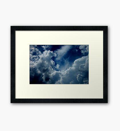 Treasures in the Heavens Framed Print