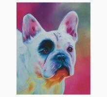 Paris French Bulldog Portrait Painting Kids Clothes