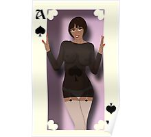 Miss Ace of Spades Poster
