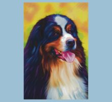 Heidi - Bernese Mountain Dog  Kids Tee